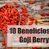 10 Benefícios da Goji Berry