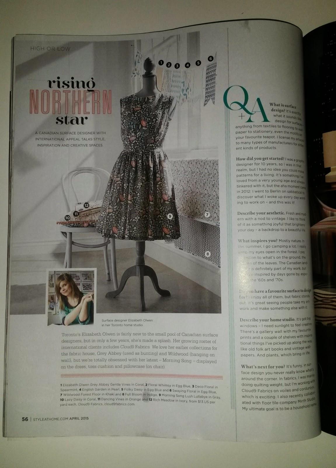 Rising Northern Star - Elizabeth Olwen