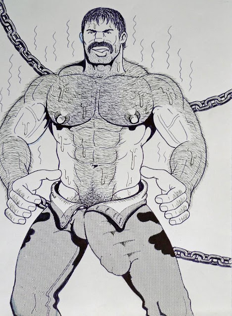 MALE DRAWING ART BLOG : THE HUN / HUNART DRAWING