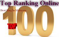 Ranking Blog Pro Barisan Nasional