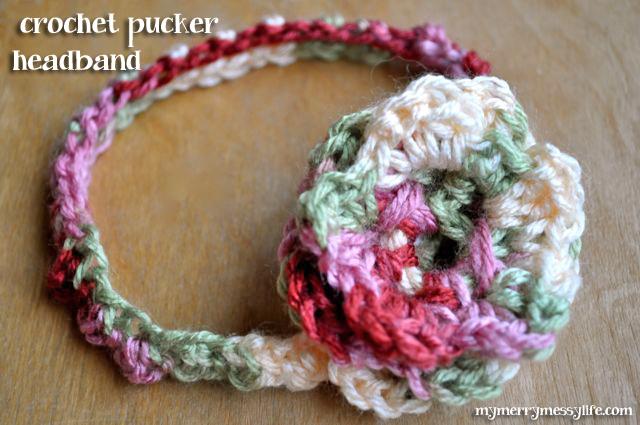 Easy Crochet Baby Headband Free Pattern : BABY CROCHET HEADBAND PATTERN Crochet Patterns