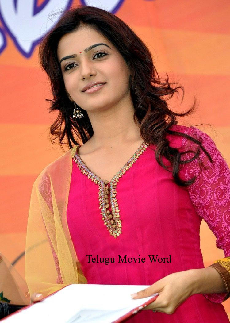 tollywood actress wallpapers: heroine samantha wallpapers