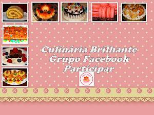 Facebook Grupo Culinária Brilhante