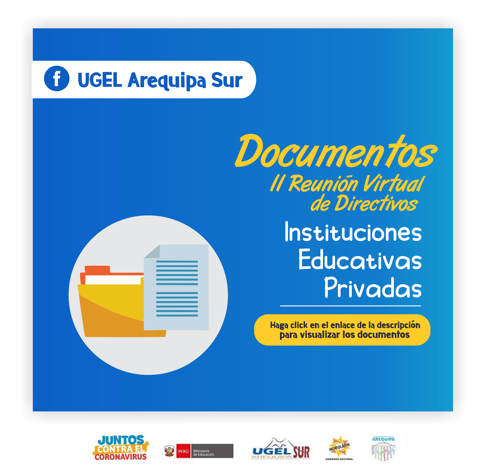DOCUMENTOS II REUNION VIRTUAL DIRECTIVOS - II.EE PRIVADAS