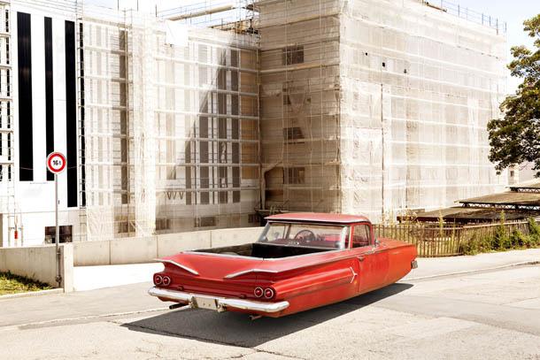 Air Drive - série fotográfica de Renaud Marion - 1960 Chevy El Camino