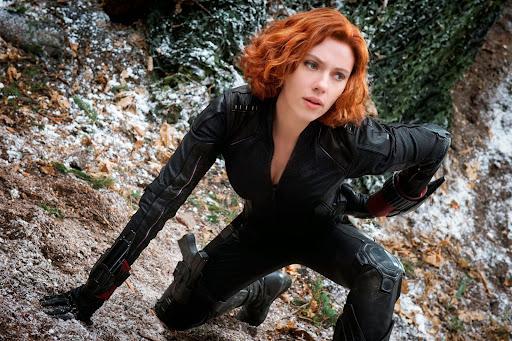 Scarlett Johansson Avengers: Age Of Ultron