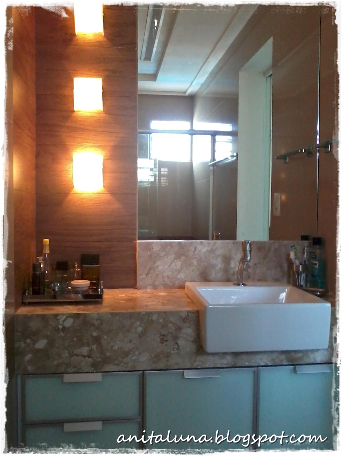 Foi difícil me esconder para não sair no espelho literalmente fiz  #9F592C 1200x1600 Armario Banheiro Luna