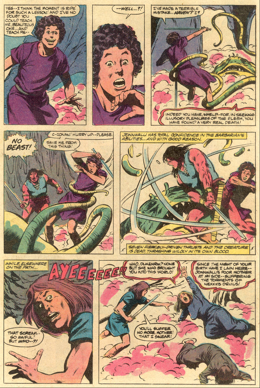 Conan the Barbarian (1970) Issue #125 #137 - English 17