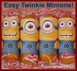 Easy Twinkie Minions