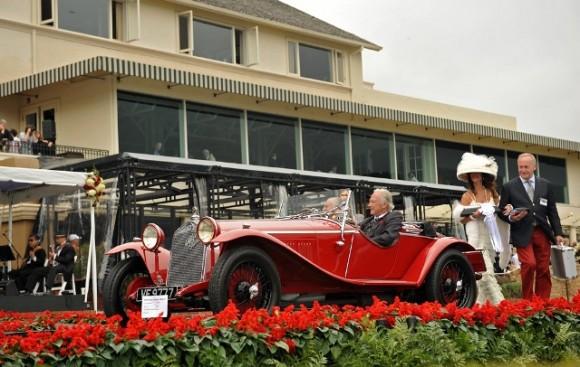 1925 Alfa Romeo P2. 1929 Alfa Romeo 6C 1750.