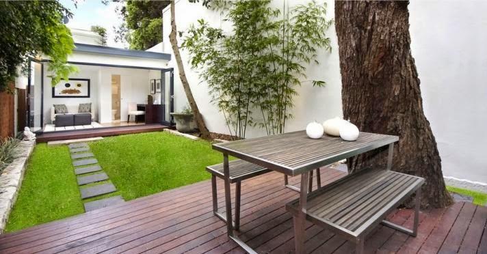 5 Ide Dekorasi Taman Belakang Rumah