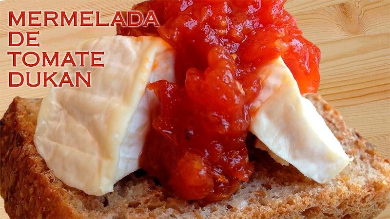 mermelada de tomates dukan