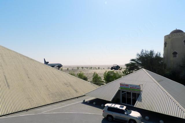 Emirates National Auto Museum - refreshment