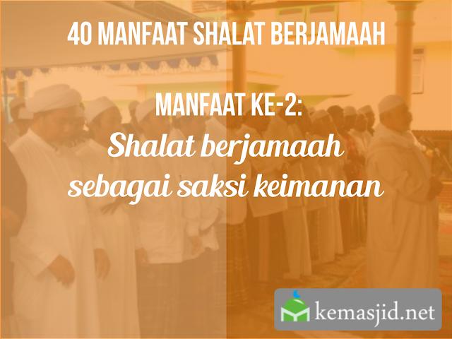 Manfaat Shalat berjamaah