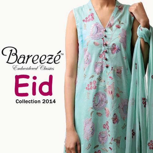 Bareeze Eid Collection 2014