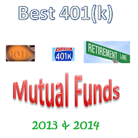 Best mutual funds for 401(k)