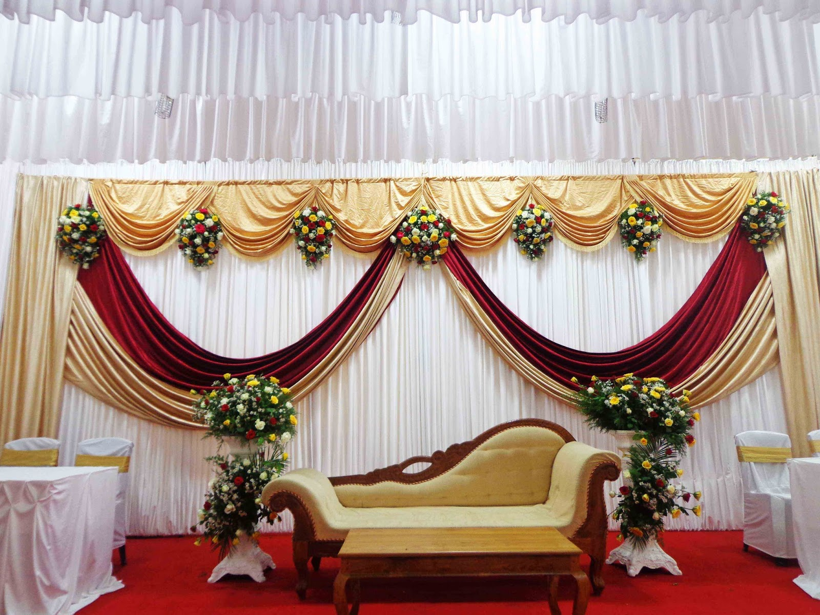 Most beautiful wedding stage decoration ideas designs 2015 for Marriage decoration photos