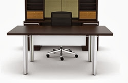 Verde Modern Table Desk by Cherryman