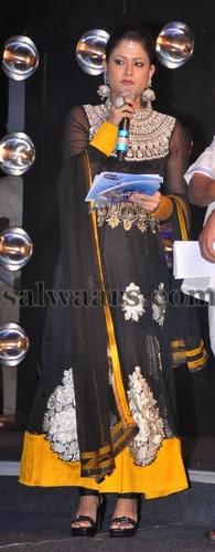 Shilpa Chakravarthy High Neck Churidar