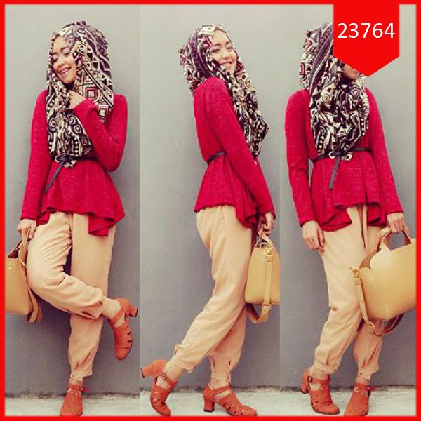 Busana: Baju  Hijab Setelan Amanda Range (BBB-067)