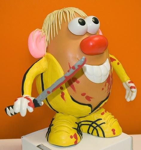 Mr. Potato versión Kill Bill