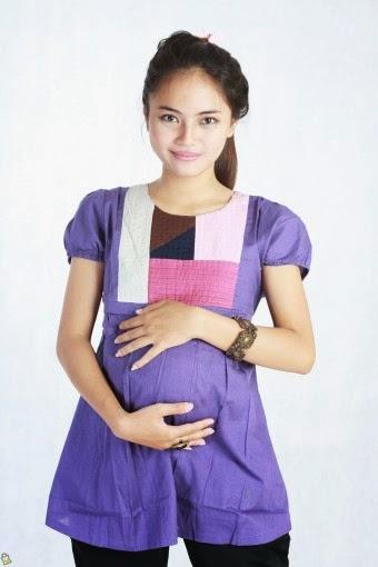 Model Baju Hamil Muslim Trendy 4 Bulan