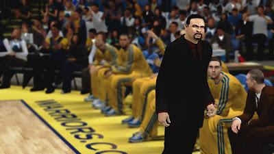 NBA 2K13 Mark Jackson Cyberface PC Patch