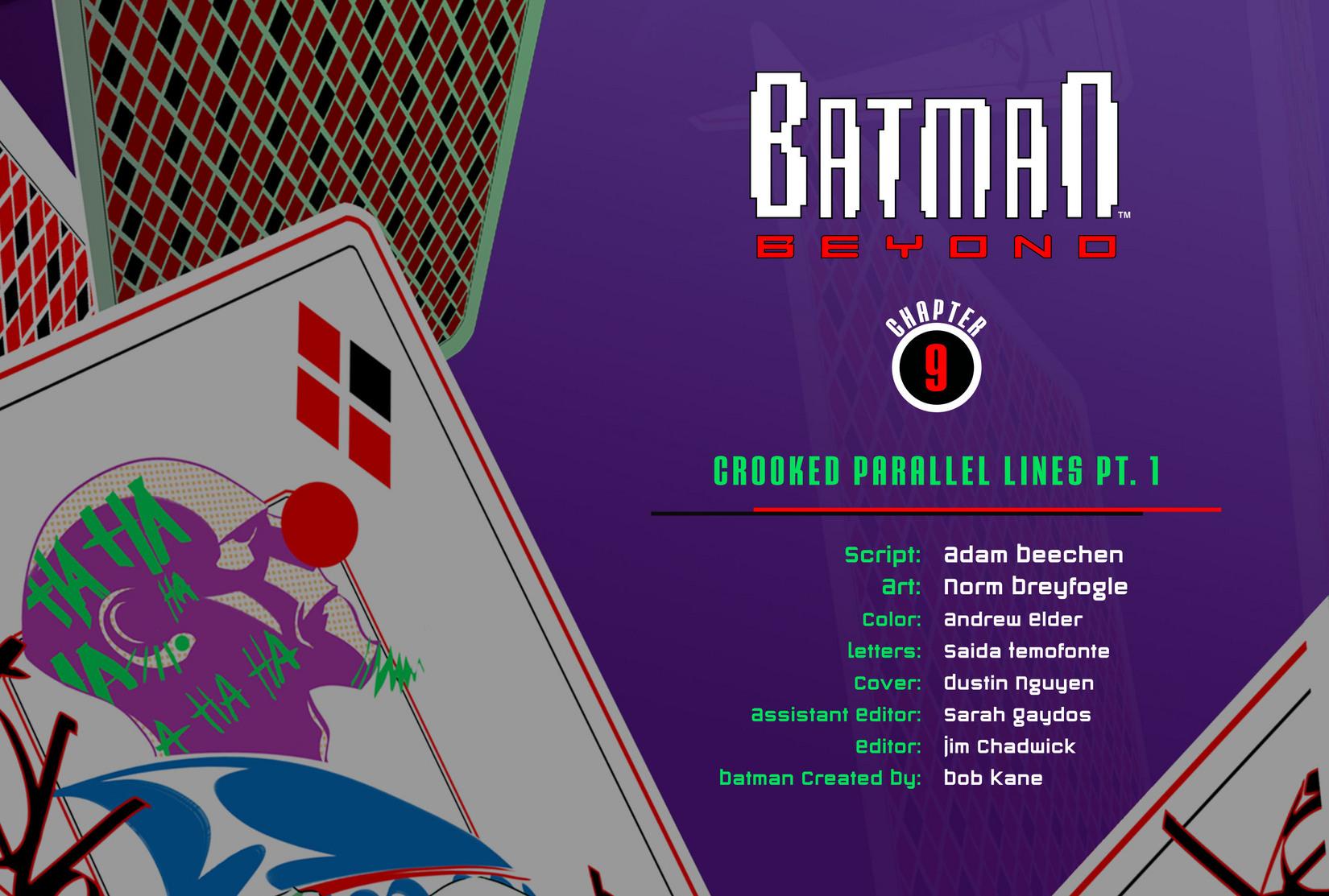 Batman Beyond (2012) Issue #9 #9 - English 2