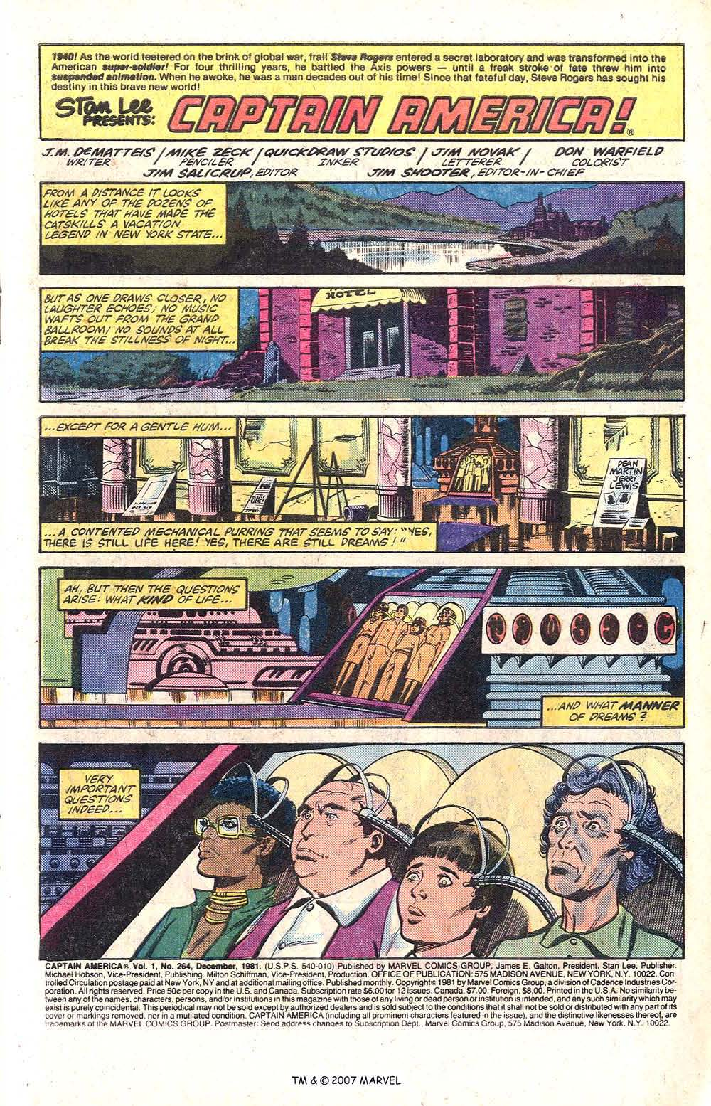 Captain America (1968) Issue #264 #179 - English 3