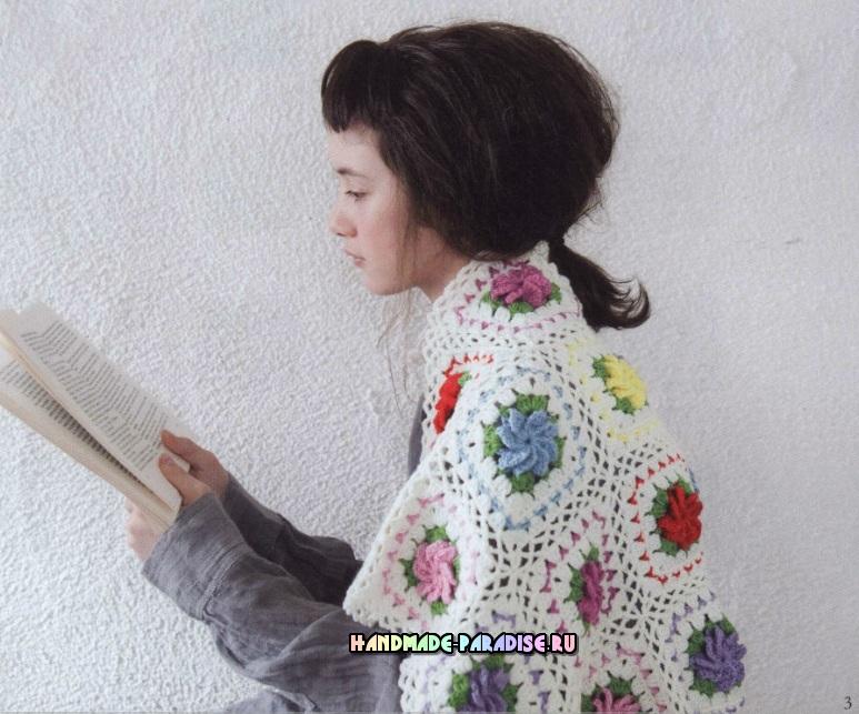 Вяжем крючком аксессуары. Японский журнал со схемами