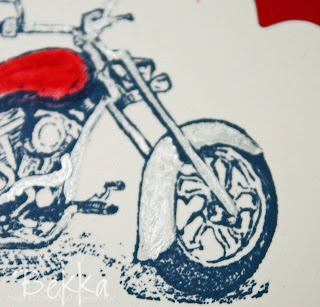 Stampin' Up! Motorcycle
