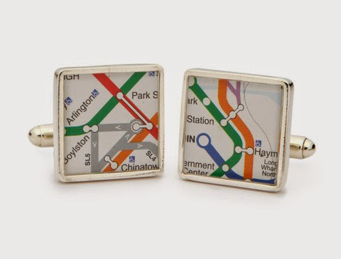 """Metro Cufflinks"""