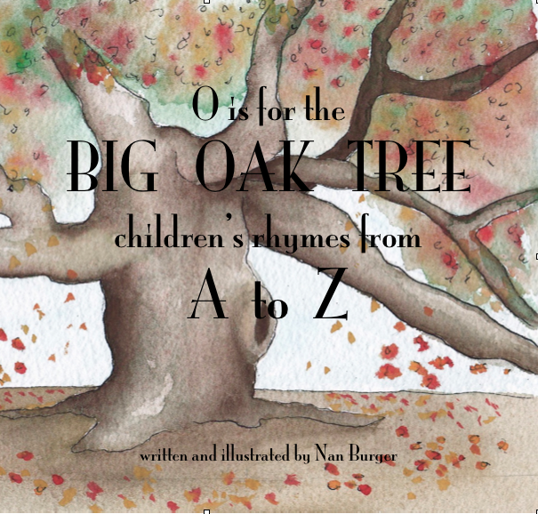 My ABC book with original art and poetry is now for sale for only $14.99.  Click the image below.