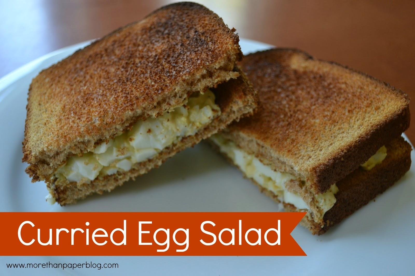 Curried Egg Salad Recipe — Dishmaps