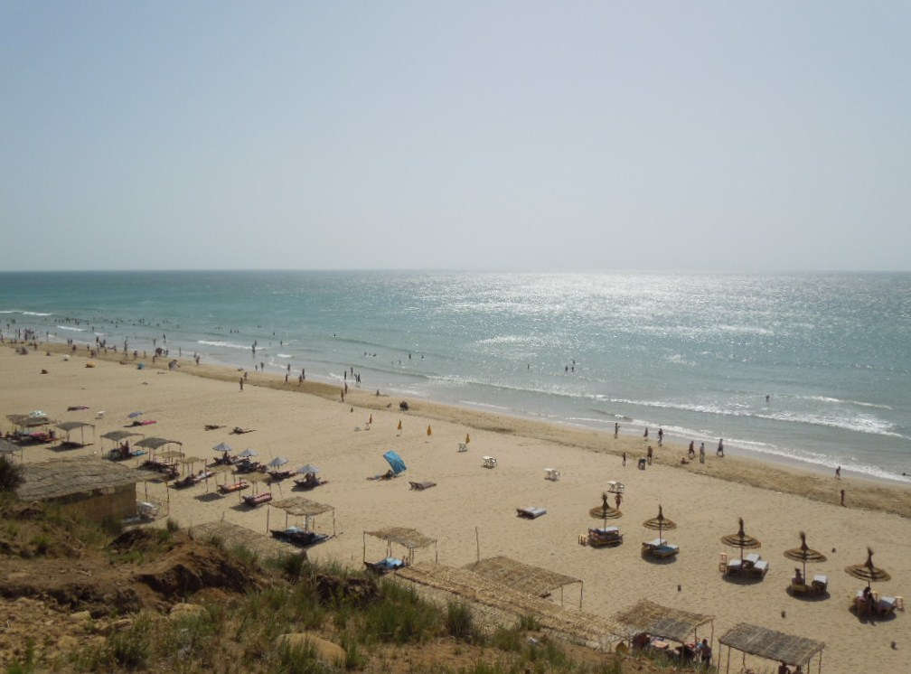 Asilah Morocco  city photos : Rmilate Beach also known as Paradise Beach 7 km south of Asilah
