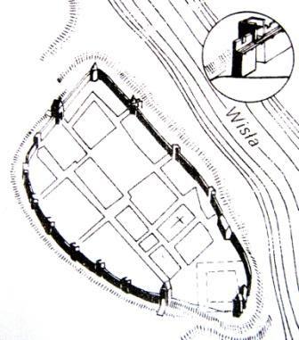 Obwarowania Warszawy z początku XV wieku