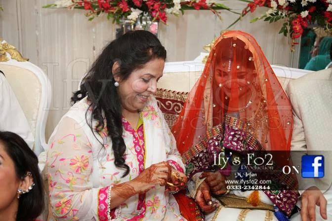 Celebrity Weddings: Sanam Baloch Wedding Pictures
