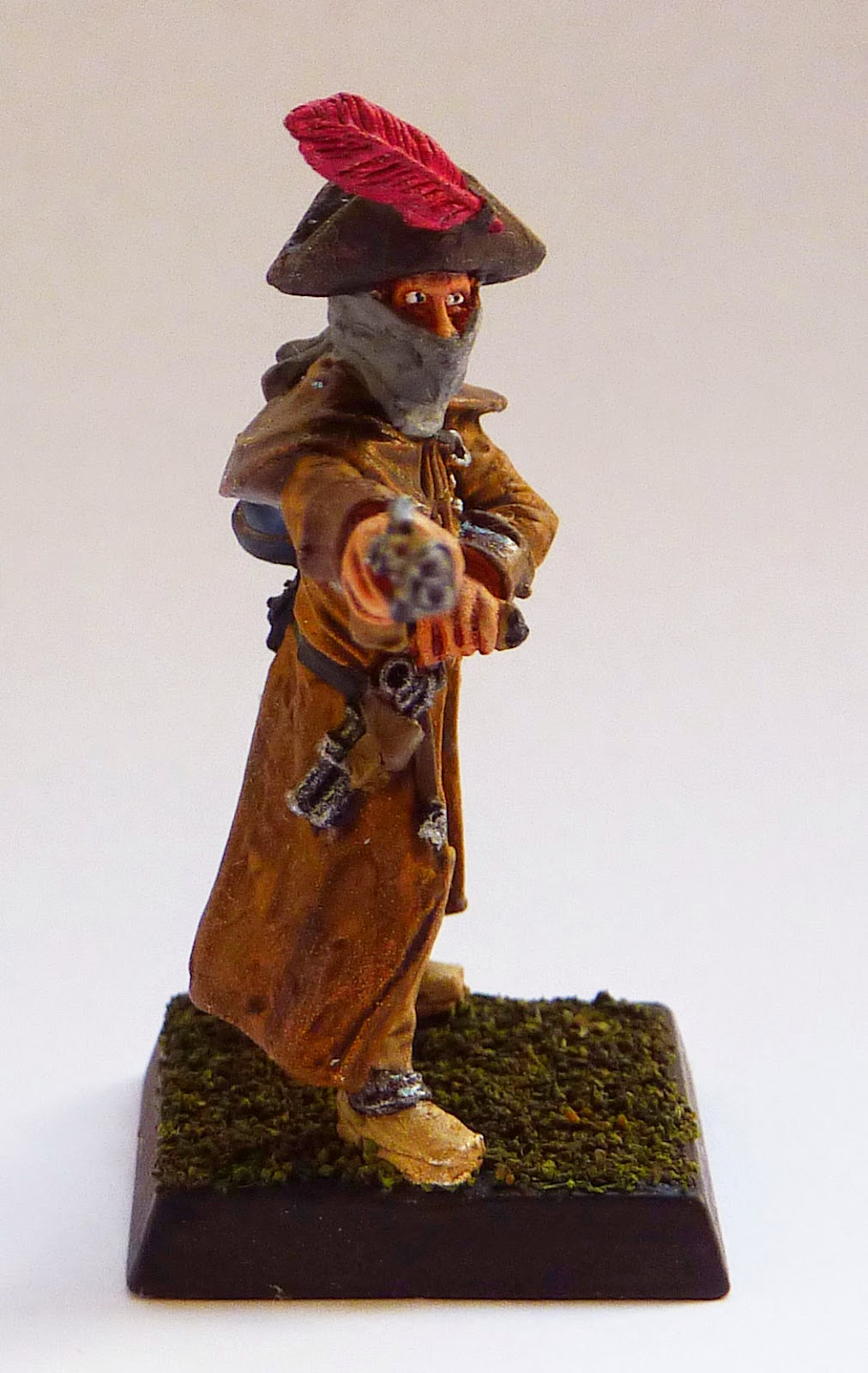 Mordheim Highwayman as Empire Witch Hunter