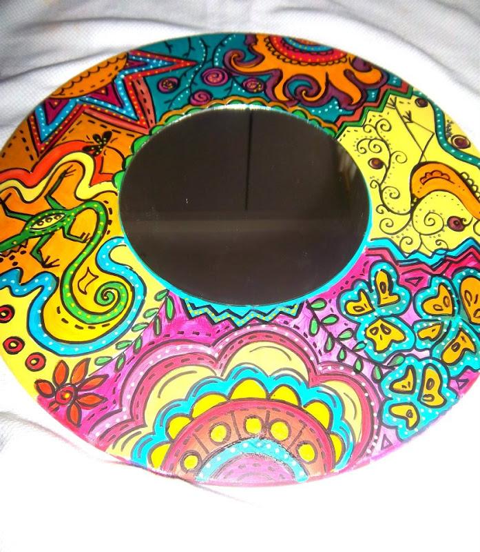 Cuadros abstractos pintados a mano en acrilico car - Murales pintados a mano ...