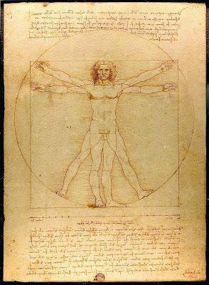 Homem Vitruviano - Leonardo da Vinci (desenho)