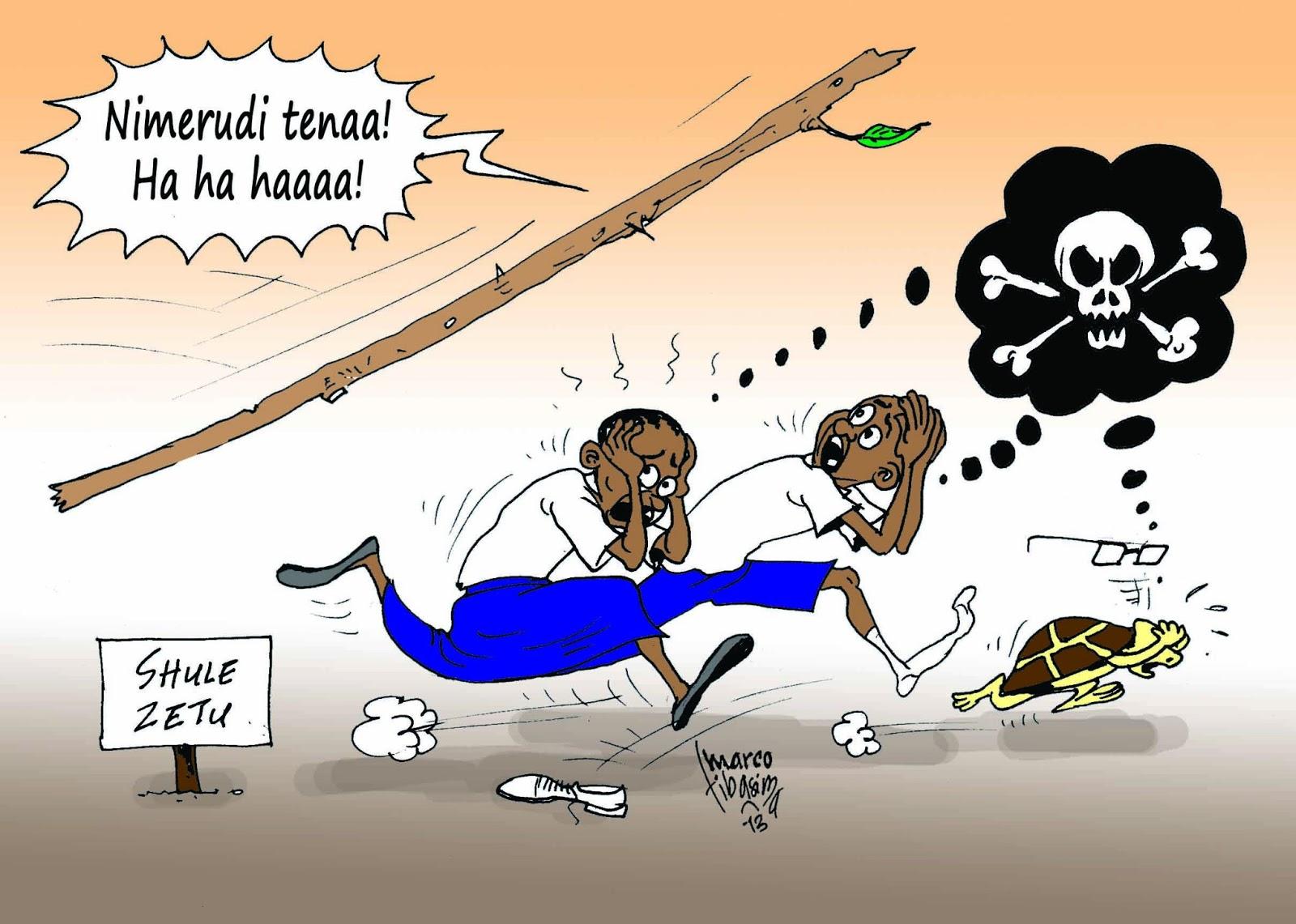 Wizara ya Elimu nchini Tanzania yarejesha adhabu za viboko mashuleni.