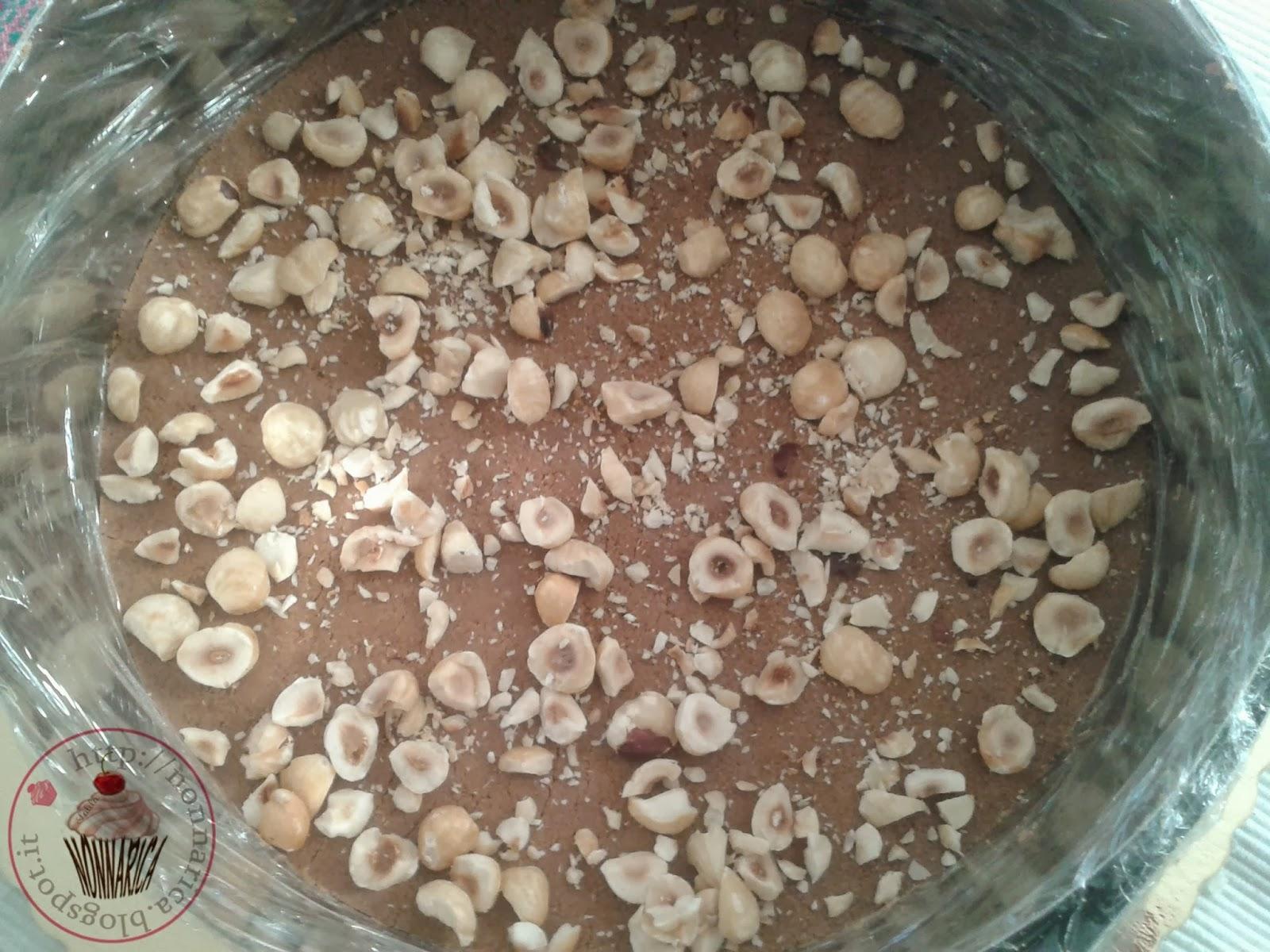 Cheesecake alla nutella senza cottura nonna rica - Bagno nella nutella ...
