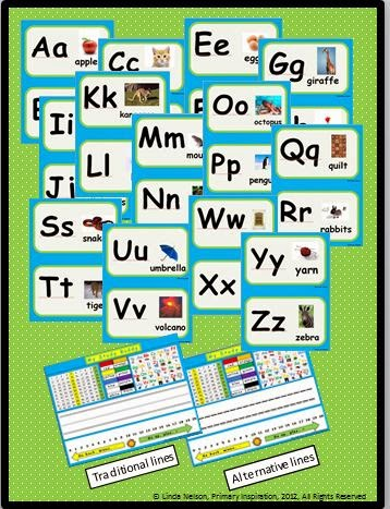 http://www.teacherspayteachers.com/Product/Classroom-Alphabet-and-Study-Buddy-Nametags-264200