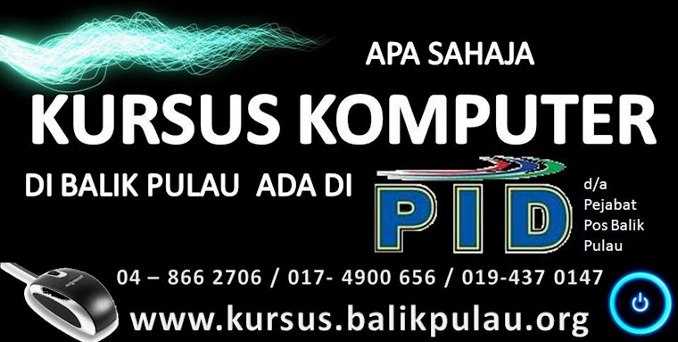 Kursus @ Balik Pulau