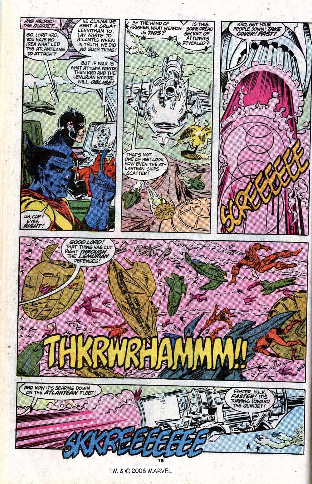 Captain America (1968) Issue #348c #280 - English 20