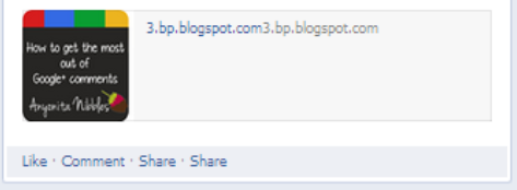 A stagnant post that generates no activity on Facebook from www.anoynita-nibbles.com