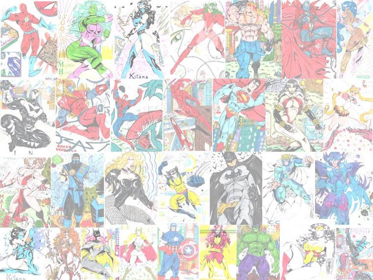 Meus desenhos!!!