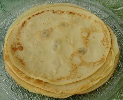Crêpes, galettes, pancakes et blinis