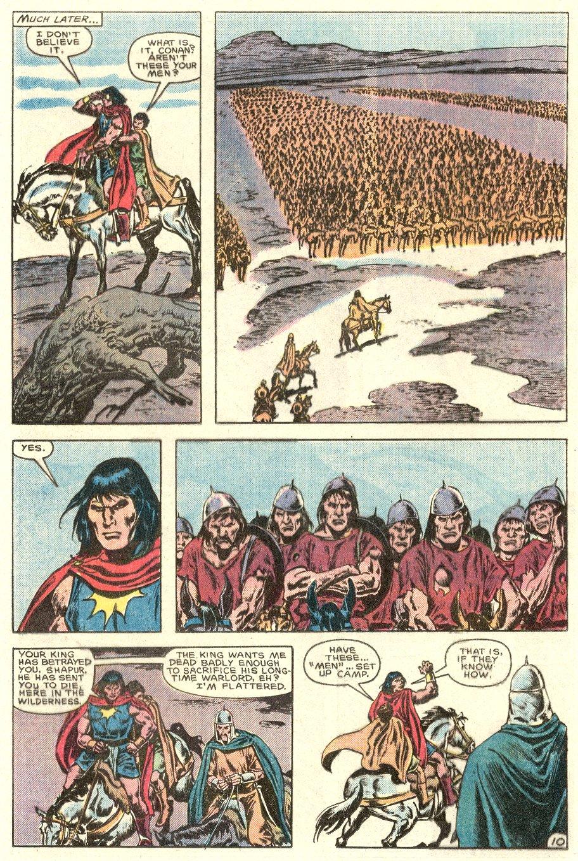 Conan the Barbarian (1970) Issue #182 #194 - English 11