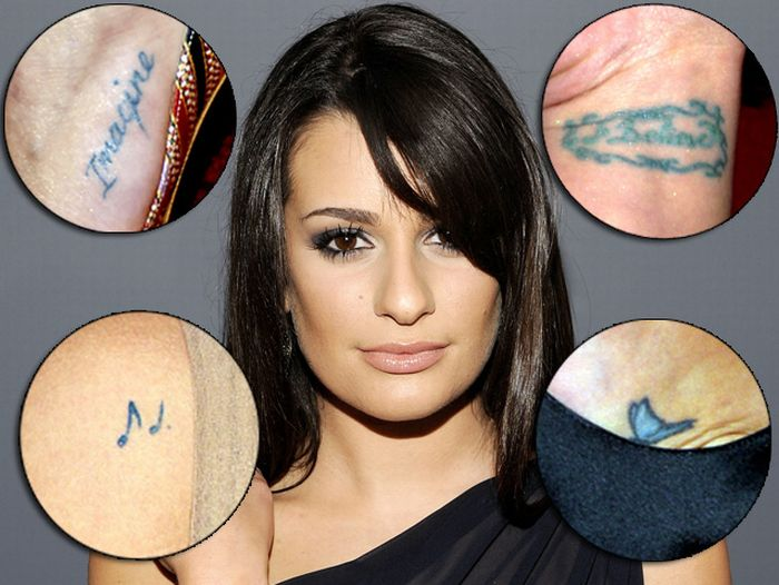 Lea Michele Tattoos 03jpg